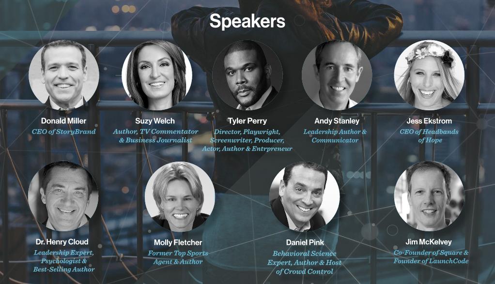 Leadercast 2017 Speaker Graphic