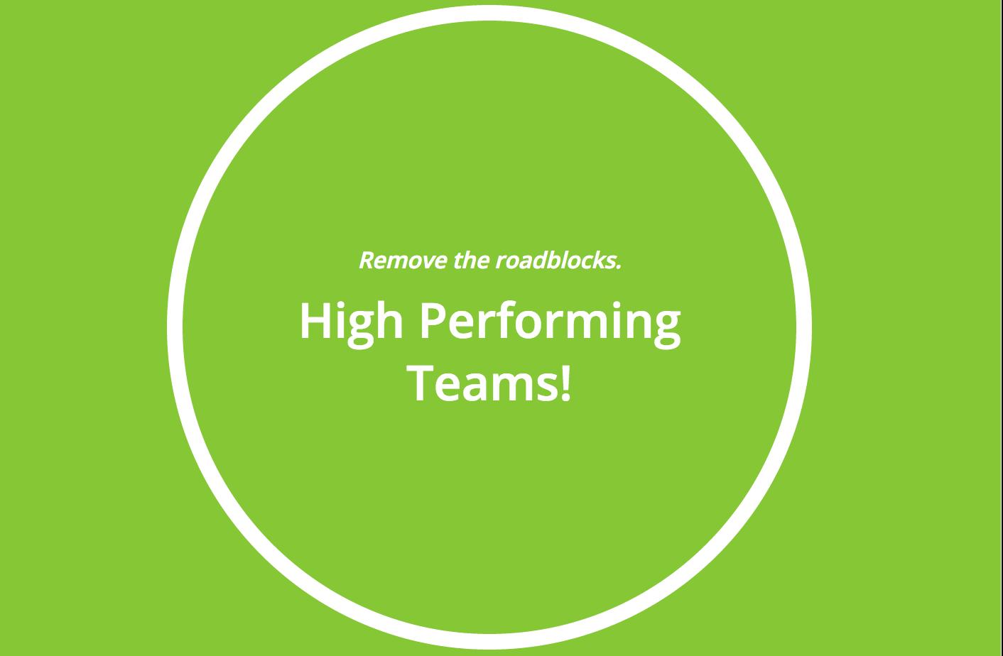Webinar Series: High Performing Teams