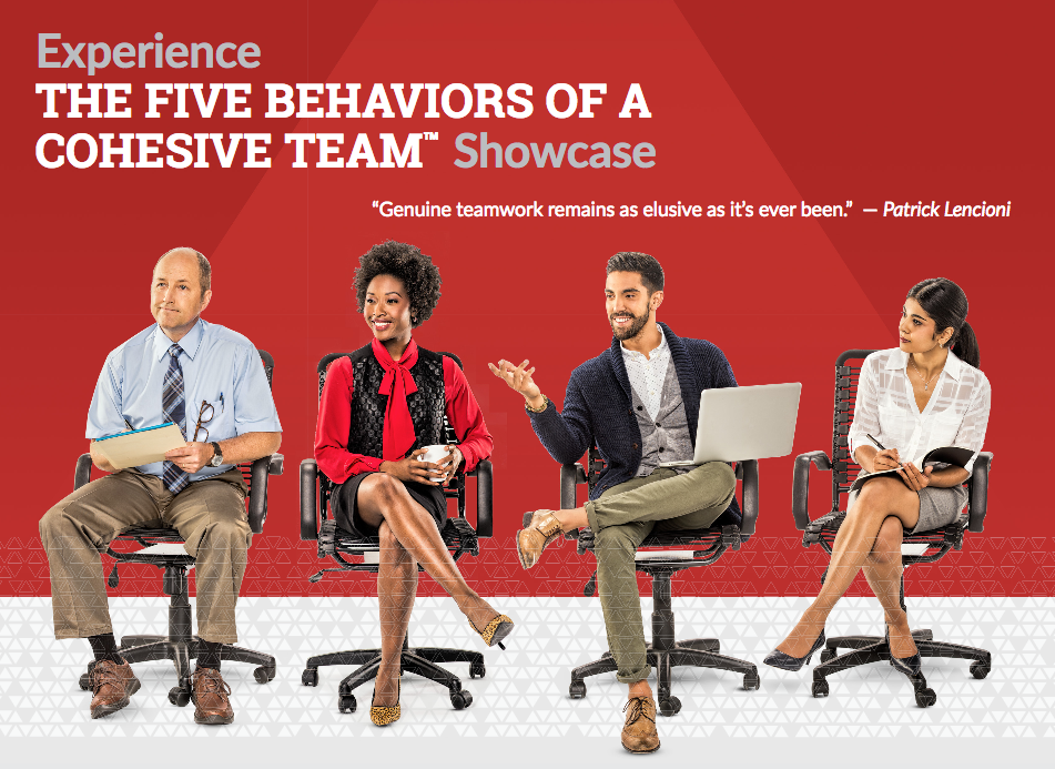 5 Behaviors Showcase Graphic