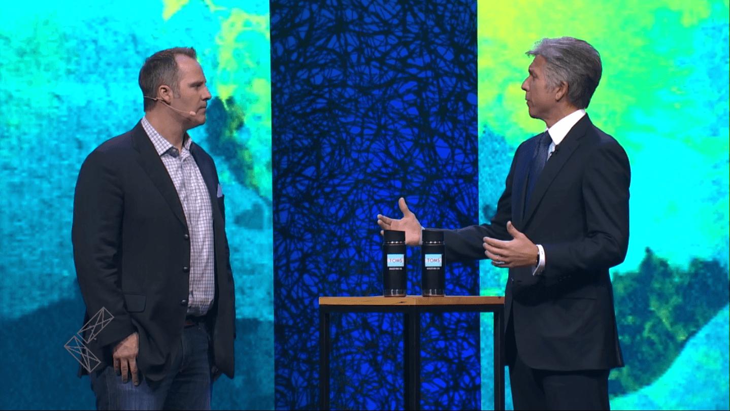 Denver & McDermott talk at Leadercast
